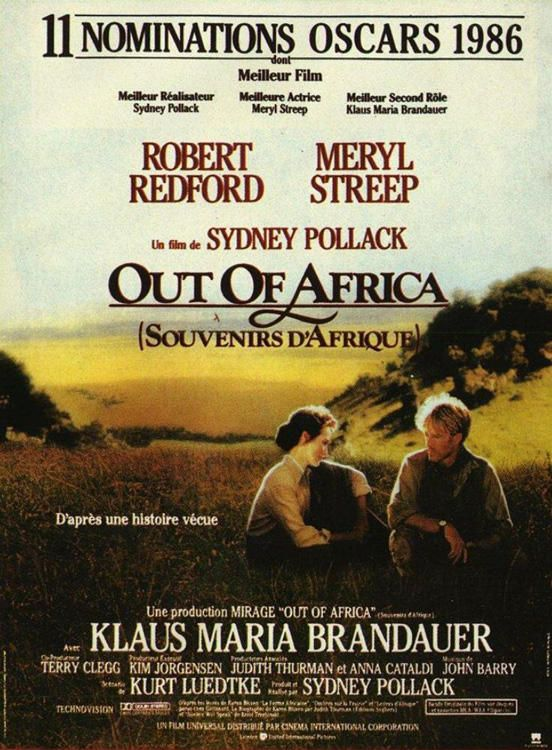 a summary of the story of karen blixen in out of africa by sidney pollack