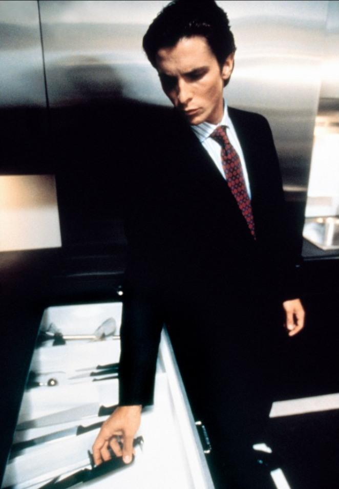 patrick bateman in american psycho American psycho would mark the beginning of bale's numerous body transformations 11 bale modeled patrick bateman after tom cruise.
