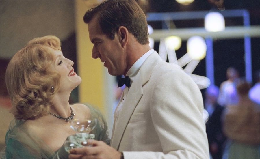 far from heaven film review Far from heaven is more political than all that heaven allows and even ali: fear eats the soul in doing research on homosexuality for the film, haynes discovered that the '50s weren't as repressive as he first thought.
