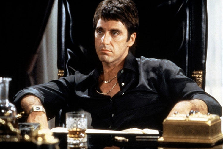 Scarface living room
