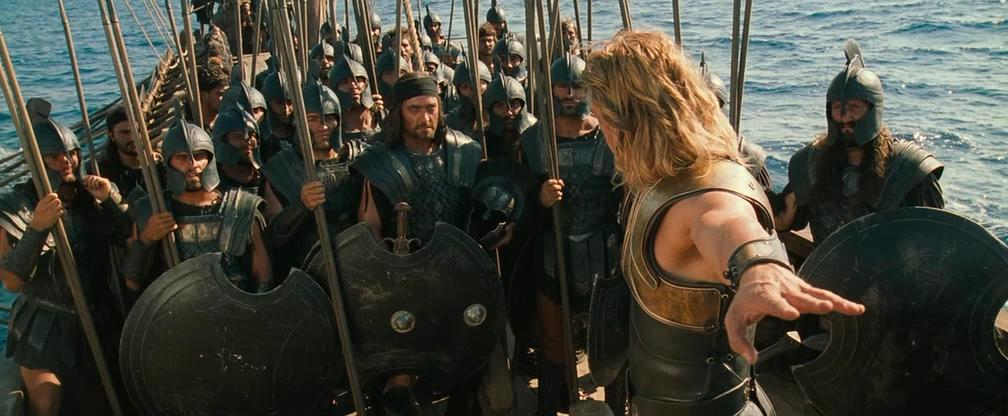 a review of the movie troy by wolfgang peterson and homers iliad A classical studies blog contrasting the differences between the iliad homer's epic poem and troy the movie directed by wolfgang peterson the purpose and the idea of the iliad and troy: a closer look at the epic poem the iliad reveals that homer's intended audience in the 7th.